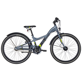 s'cool XXlite 24 3-S - Vélo enfant - alloy gris